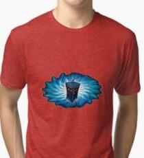 Dr Who - The Tardis Tri-blend T-Shirt