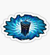 Dr Who - The Tardis Sticker