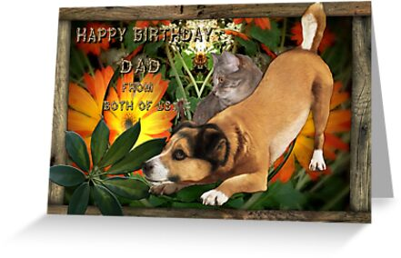 Birthday Wishes From Both Of Us to Dad by judygal