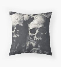 Memento Mori Throw Pillow