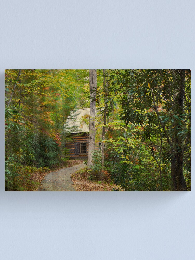 Alternate view of Nestled in the Woods Canvas Print