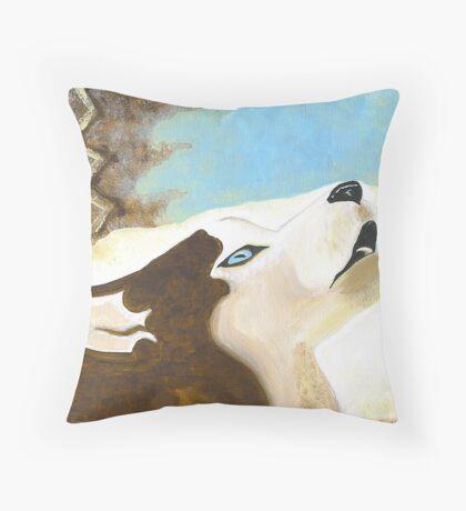 Siberian Throw Pillow