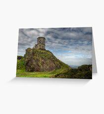 Mow Cop Castle, Biddulph  Greeting Card