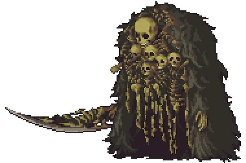 Quot Pixel Gravelord Nito Quot By Zedotagger Redbubble
