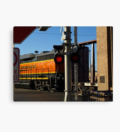 8th and Weber Crossing Canvas Print