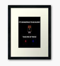 To Go Alone Framed Print