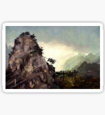 Misty Mountain Sticker