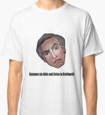 Kommen sie bitte und listen to Kraftwerk! - Alan Partridge Tee Classic T-Shirt