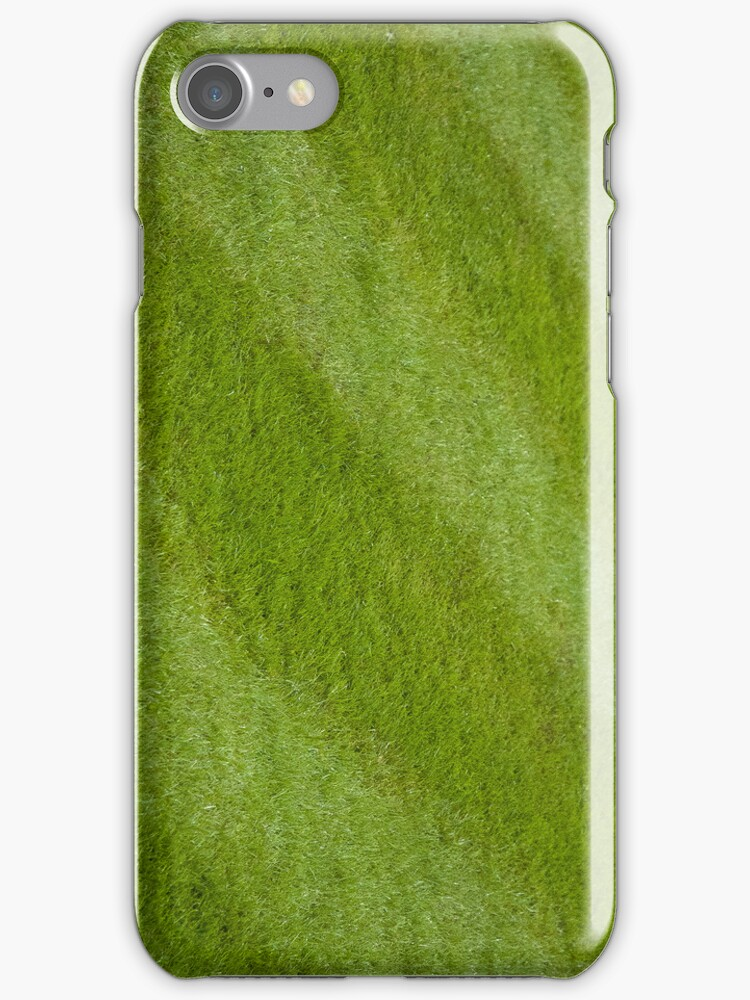 Green grass Iphone cover by Magdalena Warmuz-Dent