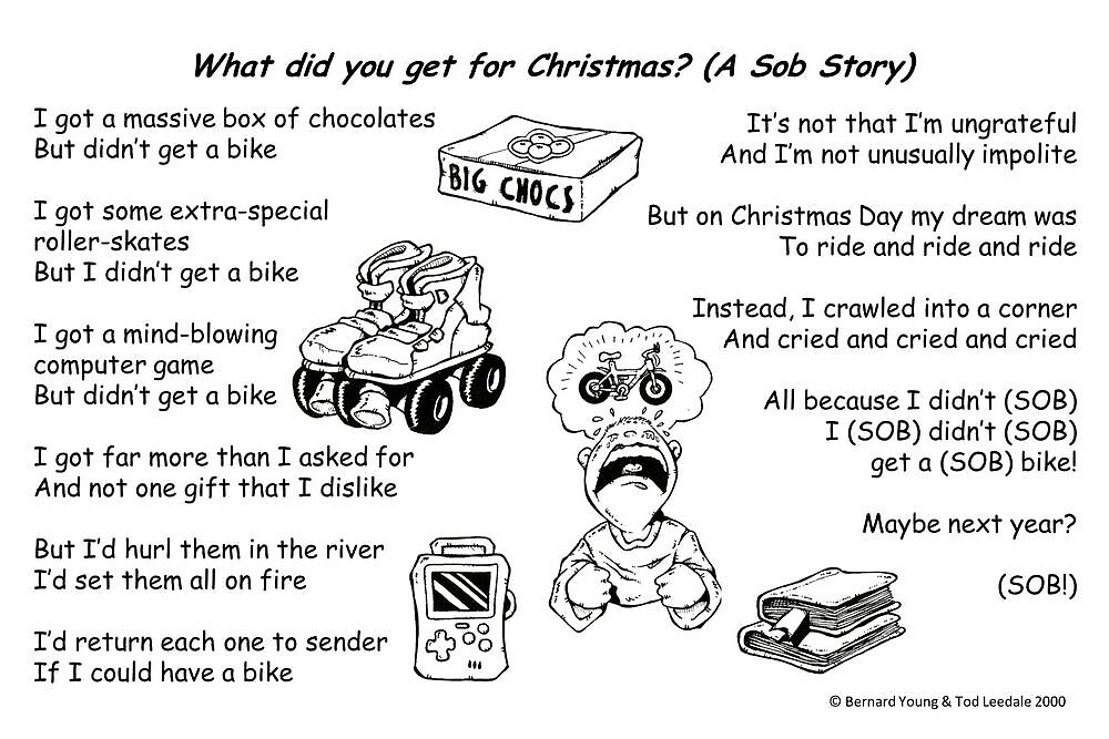What did you get for Christmas? by YoungPoet