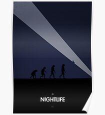 99 Steps of Progress - Nightlife Poster