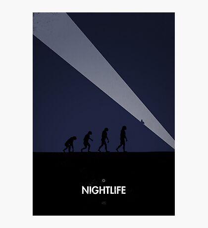 99 Steps of Progress - Nightlife Photographic Print