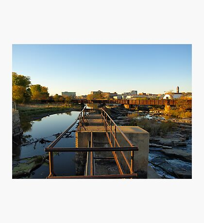 Upper Edge of the Sioux Falls Photographic Print