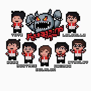 Taipei Pixel Assassins by Pixel-League
