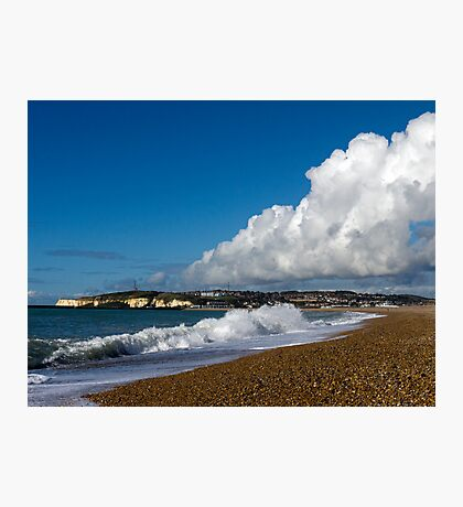Cloud & Surf at Seaford Bay Photographic Print