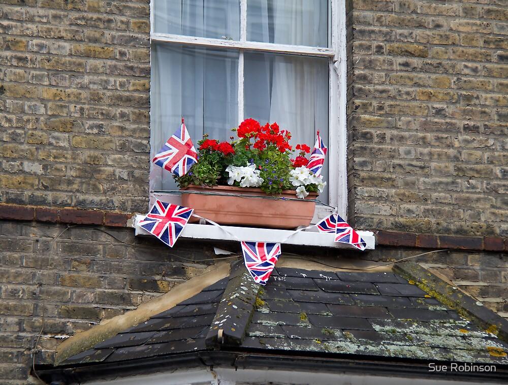 Celebration Bunting for Queen Elizabeth II Diamond Jubilee by Sue Robinson