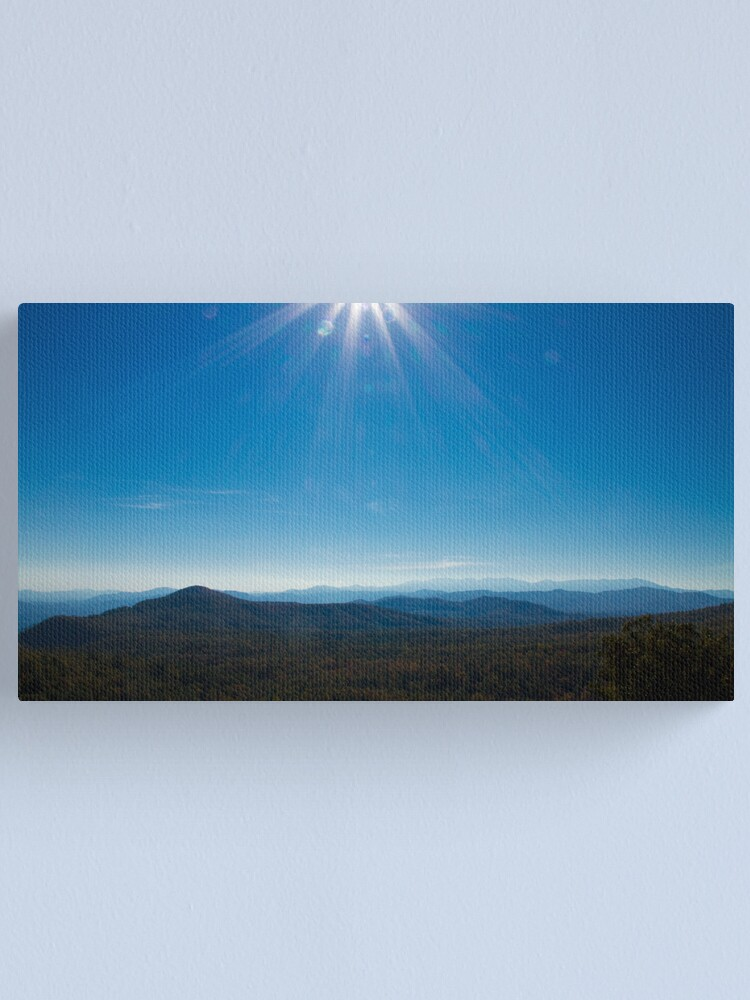 Alternate view of Blue Heaven Canvas Print