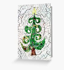 Christmas Crackle Greeting Card
