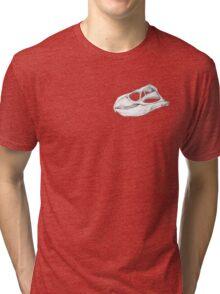 Rhynchosaurs Sure Are Weird - 3 Tri-blend T-Shirt