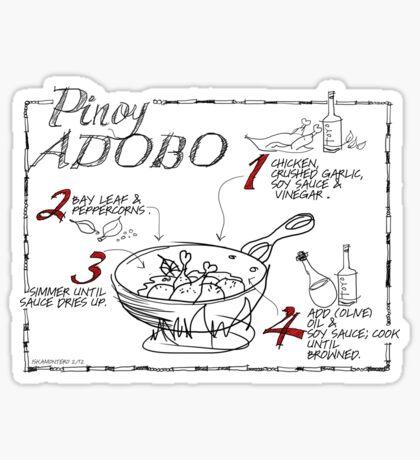 Chicken Adobo Sticker