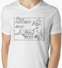Chicken Adobo Mens V-Neck T-Shirt