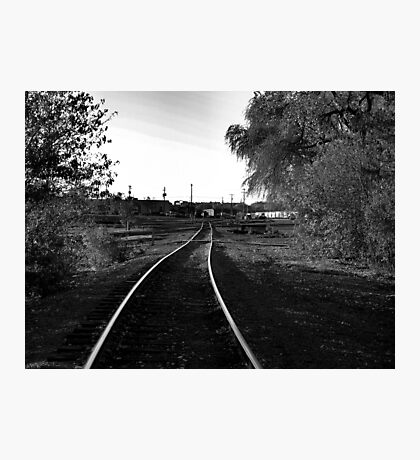 Sioux Falls Switch Yard Photographic Print