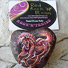 Rock'N'Ponies - RED ROCK 'N' ROAN by louisegreen
