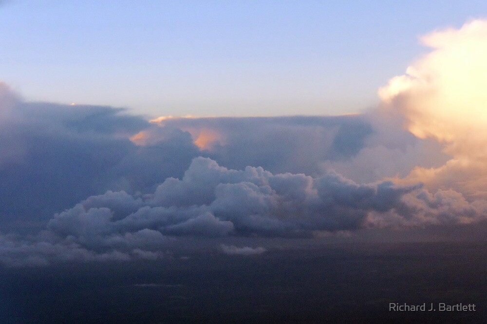 Dawn In The Skies Above England V by Richard J. Bartlett