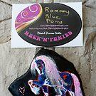 Rock'N'Ponies - ROMANY BLUE PONY by louisegreen
