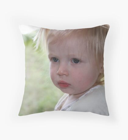 Miss Adelyn Throw Pillow