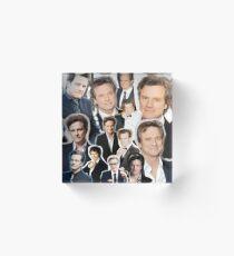 Colin Firth Acrylic Block