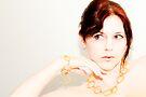 Self-portrait in Noodles by Sonja Wells