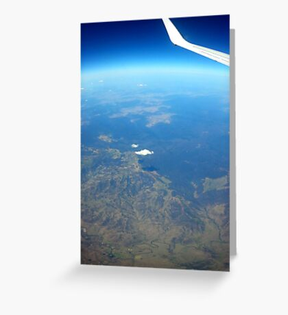 Airplane window Greeting Card