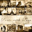 "Paris Calendar Cover ""Paris with Love"" by smilyjay"