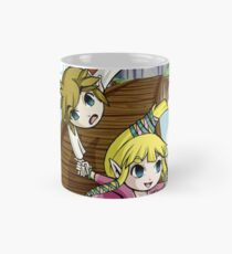 Skyward Sword in the style of The Wind Waker Mug