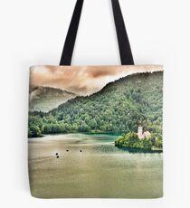 Lake Bled Tote Bag