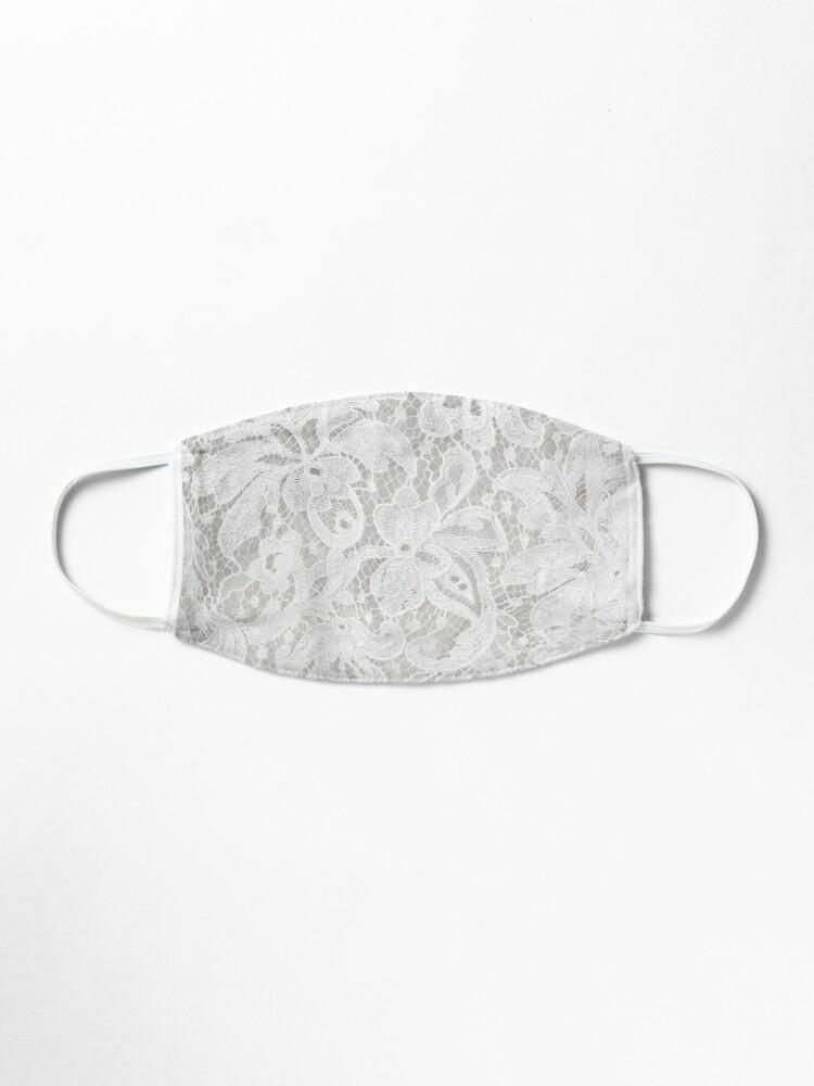 'white lace ' Mask by KatyaLin