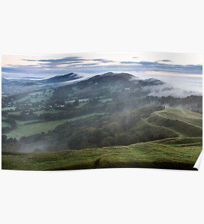 Malvern Hills Ridge Poster