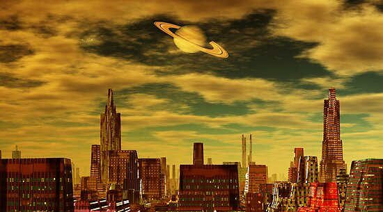 Gotham City - Ringworld by AlienVisitor
