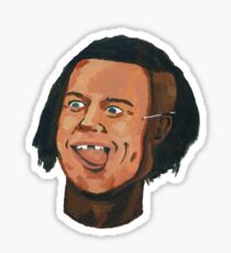The Black Brad Pitt (Bromance #Special) Sticker
