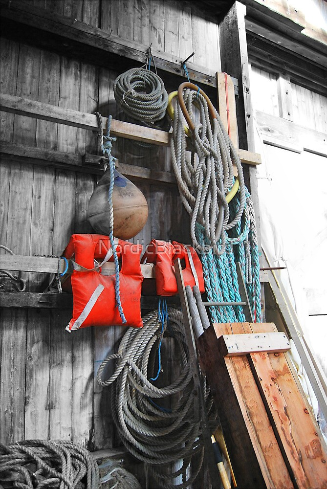 love of boats from the shed [1] by NordicBlackbird