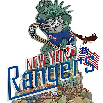 New York Rangers by ScribblePuff
