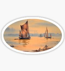 River Thames At Greenwich London Sticker