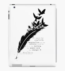 Creativity is my Outlet iPad Case/Skin