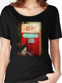 Vintage Korean Coca Cola Vending Machine Women's Relaxed Fit T-Shirt