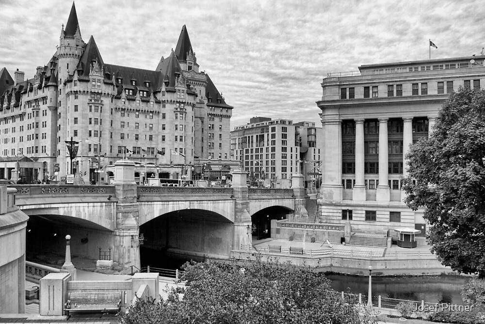 Ottawa Downtown - Ottawa, Ontario by Josef Pittner