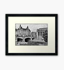 Ottawa Downtown - Ottawa, Ontario Framed Print