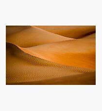 Desert Abstract Photographic Print