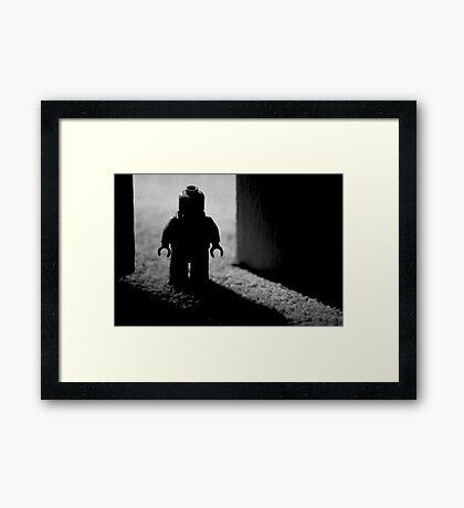"1.5"" Boogie Man Framed Print"