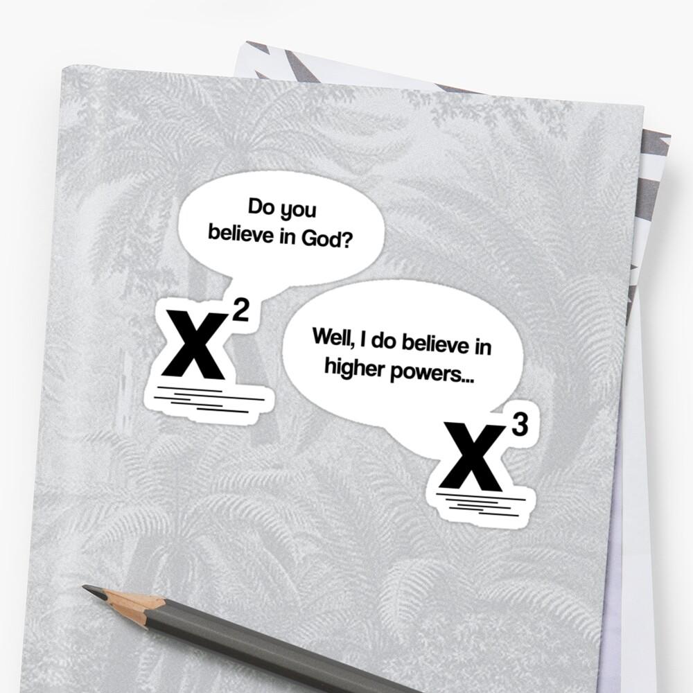 Maths - Do you believe in God? by gemzi-ox